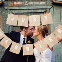 Just Married photo prop featured in Gala by victorianstation