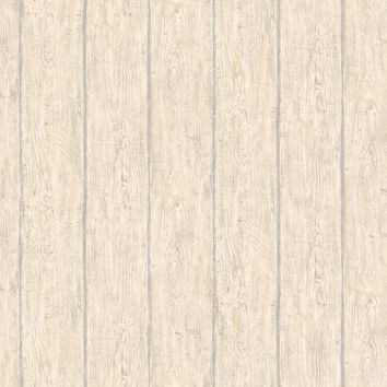 Brewster Wallpaper HTM49419 Rodeo White Outhouse Wood Wall