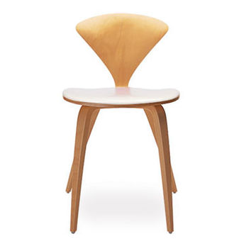 cherner side chair - upholstered seat