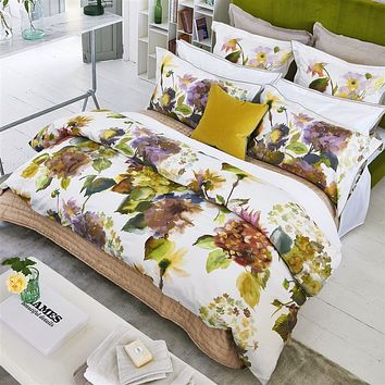 Palace Flower Birch Bedding by Designers Guild