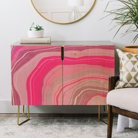 Agate Inspired Abstract 01 Credenza Viviana Gonzalez