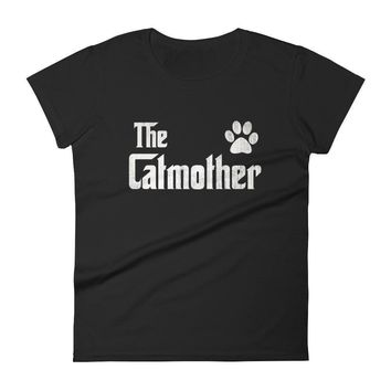 Women's The CatMother t-shirt - Cat lover gift for mom