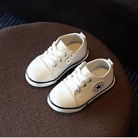 2018 Spring Canvas Children Shoes Girl Breathable Sneaker Shoes Boys&Girls Not Smelly Feet Soft Chaussure/Kids Sneakers
