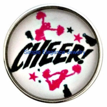 Cheerleader Snap 20mm for Snap Charm Jewelry (1191)