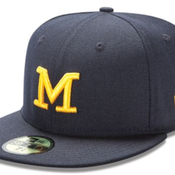 NCAA Michigan Wolverines Men's 59Fifty Fitted Hat