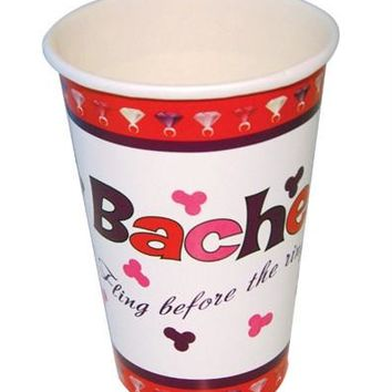 Bachelorette Party Cups 10 Oz. - 10 Pack