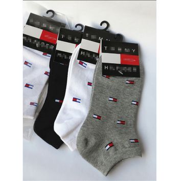 Tommy Hilfiger and ankle boots cotton socks boneless cotton Socks