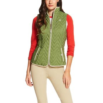 Ariat Ladies Ashley Vest - Olive Marine