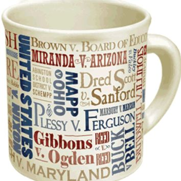 PHILOSPHERS GUILD SUPREME COURT MUG