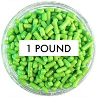 Lime Green Jimmies 1 LB