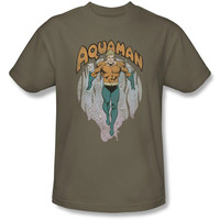 Aquaman From The Depths Mens T-Shirt
