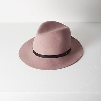 Rag & Bone - Floppy Brim Fedora, Dusty Rose