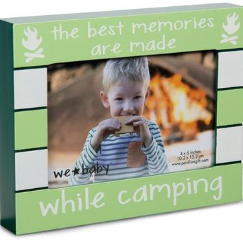 Camping Baby Photo Frame