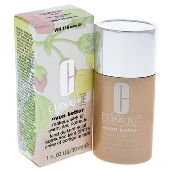 Clinique Even Better Makeup Spf 15 - Wn 13 Amber By Clinique For Women - 1 Oz Foundation