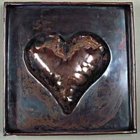 My Hearts Capacity upcycled Copper by Jerry by sacredsparks