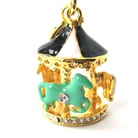 Carousel Merry Go Round Pendant Necklace | Limited Edition Jewelry