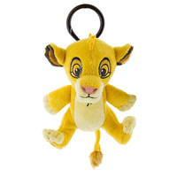 Disney Parks Simba Plush Keychain New with Tags