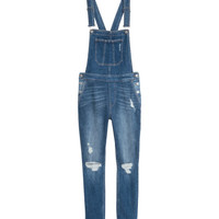 Denim Bib Overalls - from H&M