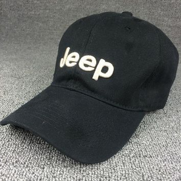 PEAPDQ7 Black Color Jeep Embroidered Baseball Cap Hat