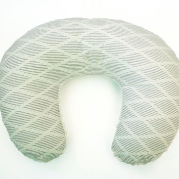 Nursing Pillow Cover - Harlequin Dash - Personalization Available