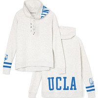 UCLA Cowl-Neck Pullover - PINK - Victoria's Secret
