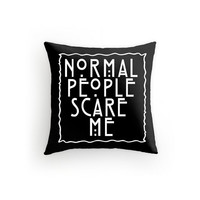 American Horror Story PIllow Tate Langdon 16x16