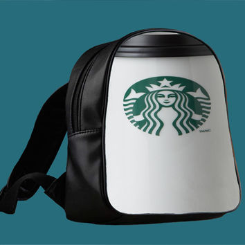Starbucks Coffee Cup for Backpack / Custom Bag / School Bag / Children Bag / Custom School Bag *