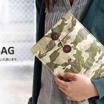 Strapya World : Fly Bag Super Light iPad Case (M Size / Camouflage)
