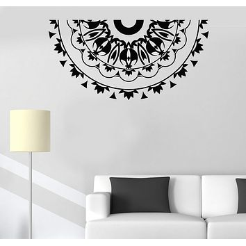Vinyl Wall Decal Mandala Room Decoration Pattern Stickers Unique Gift (513ig)