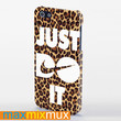 Just Do It Nike Leopard iPhone 4/4S, 5/5S, 5C Series Full Wrap Case