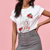 LA Hearts Queen Of Swords T-Shirt at PacSun.com