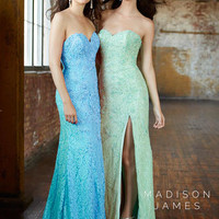 Madison James Prom 15-143 Madison James Lillian's Prom Boutique