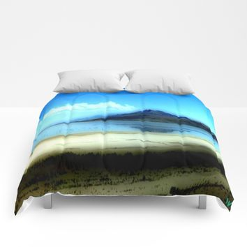 Antelope Island Comforters by Jessica Ivy