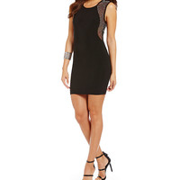 B. Darlin Beaded Sides Sheath Dress | Dillards