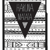 Hakuna Matata aztec Iphone 4 cases | fresh-tops.com
