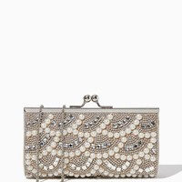 Pearl & Stone Party Clutch | Fashion Handbags & Purses - RSVP | charming charlie