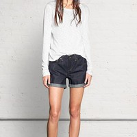 Rag & Bone - Boyfriend Short, Raw Selvage