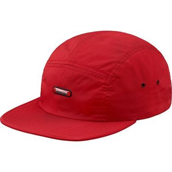 SUPREME Clear Patch Camp Cap - Red