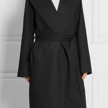 The Row - Marney hooded felted wool-blend coat