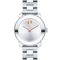 Movado Small BOLD Women's Rose Gold-Plated Watch 3600234