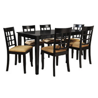 Kingstown Home Jeannette 7 Piece Dining Set & Reviews | Wayfair