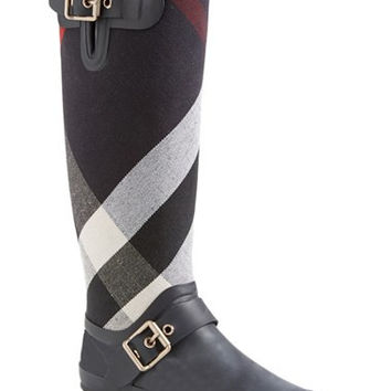 'Birkback' Rain Boot (Women) (Wide Calf)