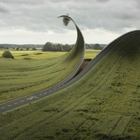 """Cut & Fold"" - Art Print by Erik Johansson"