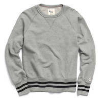 Mr. Porter Collaboration Crewneck Sweatshirt in Grey Mix