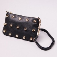 Deux Lux Empire Small Messenger in Black