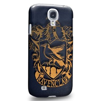Case88 Premium Designs Harry Potter & Hogwarts Collections Hogwarts RavenClaw Sigil Protective Snap-on Hard Back Case Cover for Apple Samsung Galaxy S4
