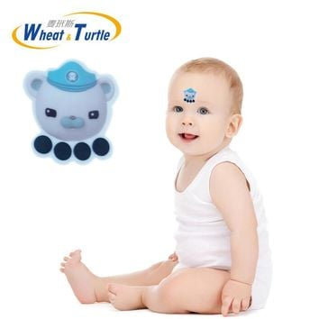 1Pcs digital Sticker Forehead Baby Thermometers Body Fever Health Safety Care No Mercury Medical Thermometer For Children Kids