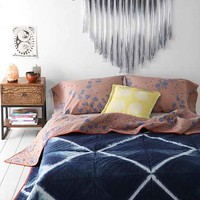 Lena Corwin X UO Earth Quilt- Indigo Full/queen