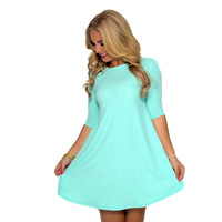 Aquadisiac Shift Dress