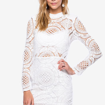 Colette Crochet Sheath Dress